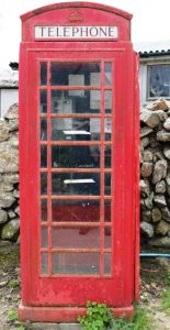 A working phone booth on St. Agnes