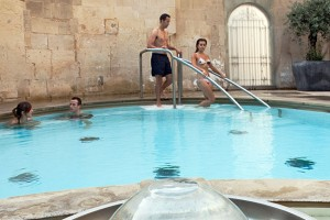 Hot Spring still in use, Bath Thermae Cross Spa, photo credit Bath Thermae Cross Spa
