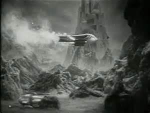 Flash Gordon's rocket ship landing, 1936 xirdalium.net