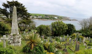 Old Town Church cemetery overlooking Old Town Bay.