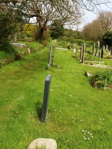 Old Town Church, St. Mary's, lower burial site